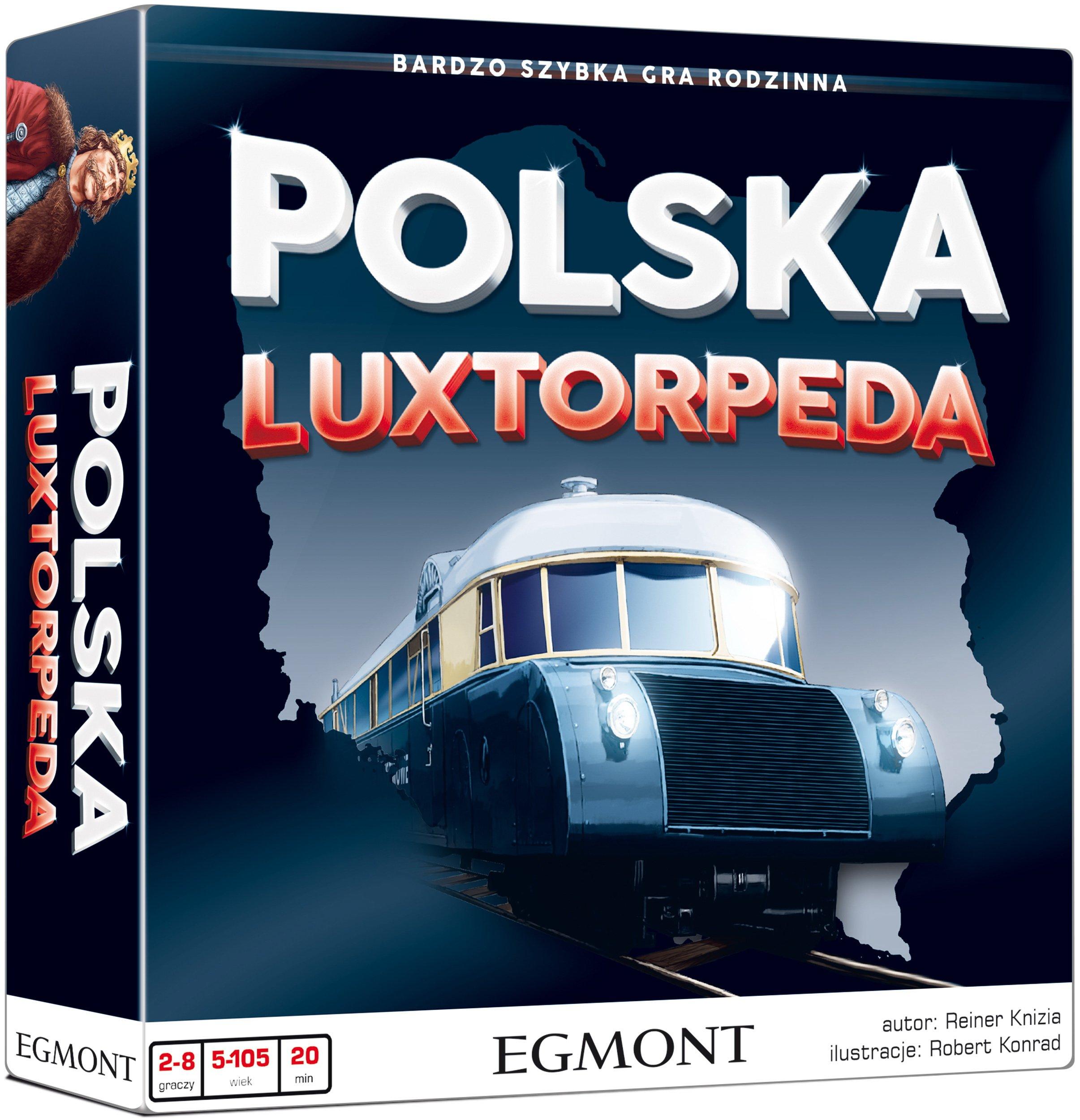 Polska Luxtorpeda egmont gra planszowa