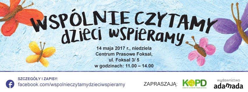 współnie czytamy dzieci wspieramy w Warszawie