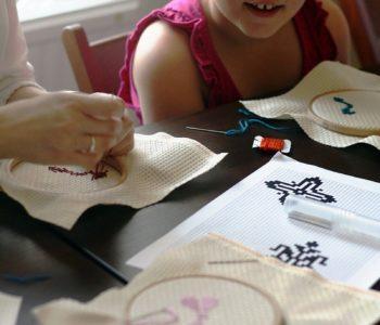 Zwierzaki-hafciaki – warsztaty haftu dla dzieci