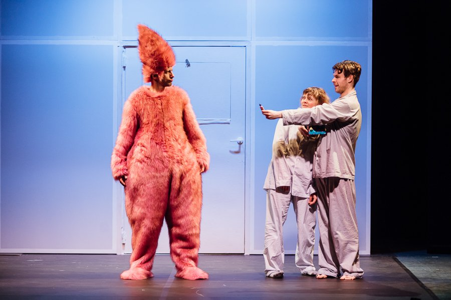 Różowy Gość Teatr Guliwer