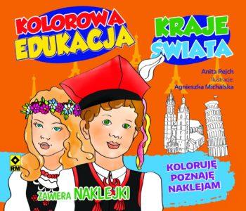 Kraje świata z serii Kolorowa Edukacja