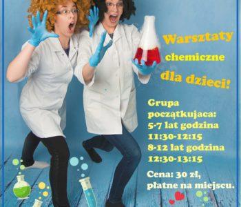 Warsztaty Młodego Chemika w Klubie Kultury Mydlniki