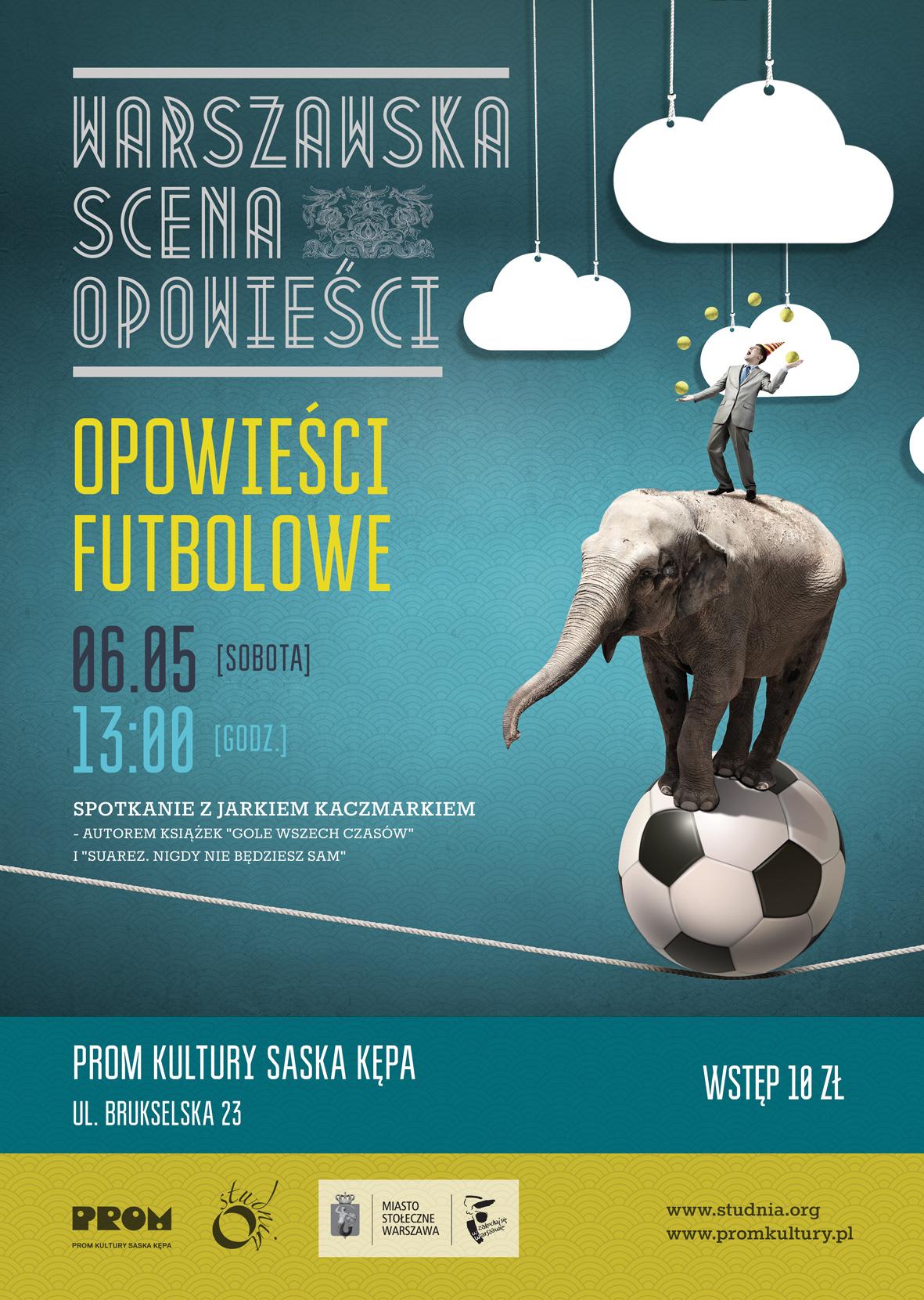 Plakat Opowieści futbolowe