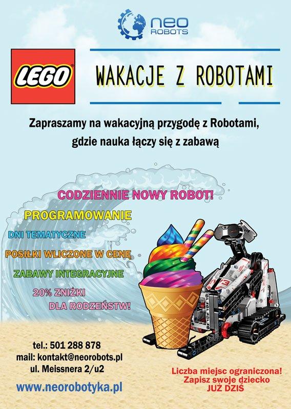 wakacyjne warsztaty z robotyki