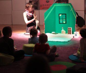 Zaprzyjaźnij się z emocjami – przedstawienie dla dzieci z warsztatami rodzinnymi