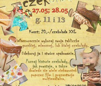 Weekendowe warsztaty czekoladowe dla dzieci w Stopklatce