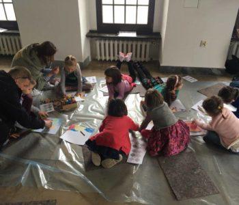 Warsztaty Cotton art dla dzieci w Centralnym Muzeum Włókiennictwa