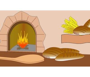 Historia kromki chleba i maślanej bułeczki
