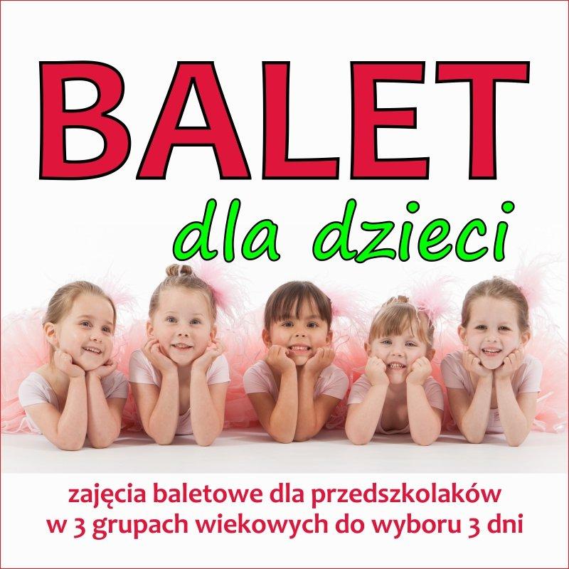 Balet dla przedszkolaków w Nutka Cafe