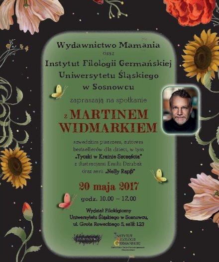 Spotkanie z Martinem Widmarkiem w Katowicach