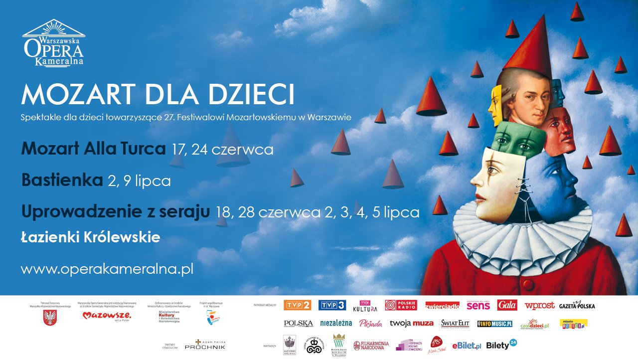 dzieci Festiwal Mozartowski koncerty dla dzici