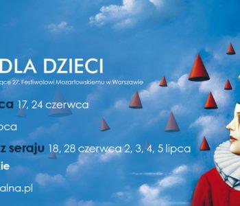 dzieci-miastodzieci Festiwal Mozartowski Koncerty dla dzieci