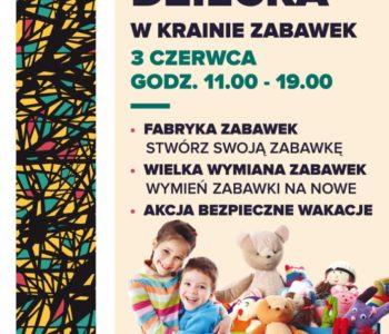 Dzień Dziecka w Krainie Zabawek – moc atrakcji w Galerii Bronowice!