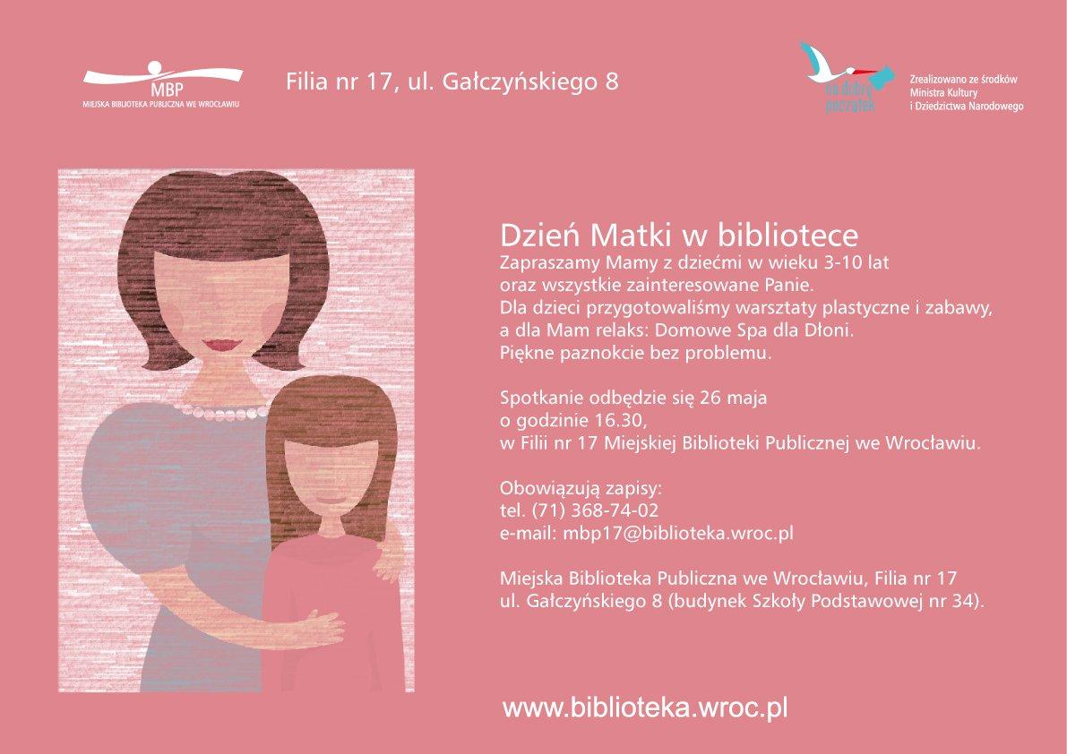 Dzień Matki w bibliotece