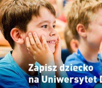 Zapisz dzieci na Uniwersytet Dzieci!