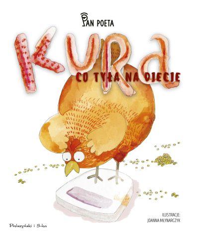 Kura co tyła na diecie książka dla dzieci