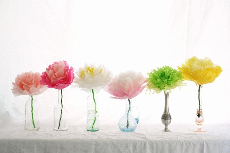 Jak zrobić papierowe kwiaty na Dzień Matki