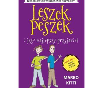 Leszek Peszek i przyjaciel okładka książki