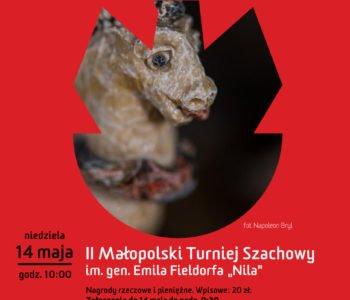 II Małopolski Turniej Szachowy w Muzeum Armii Krajowej w Krakowie