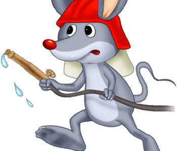 myszka-strazak Dzień DZiecka z Myszka Norką