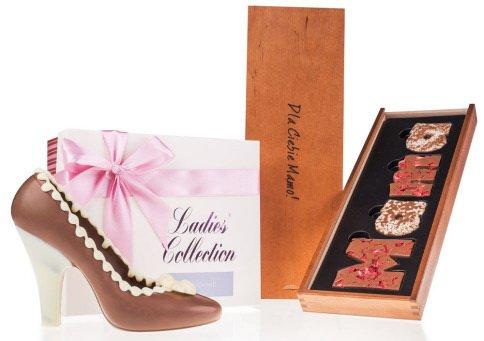 Oryginalne prezenty na Dzień Matki czekoladki
