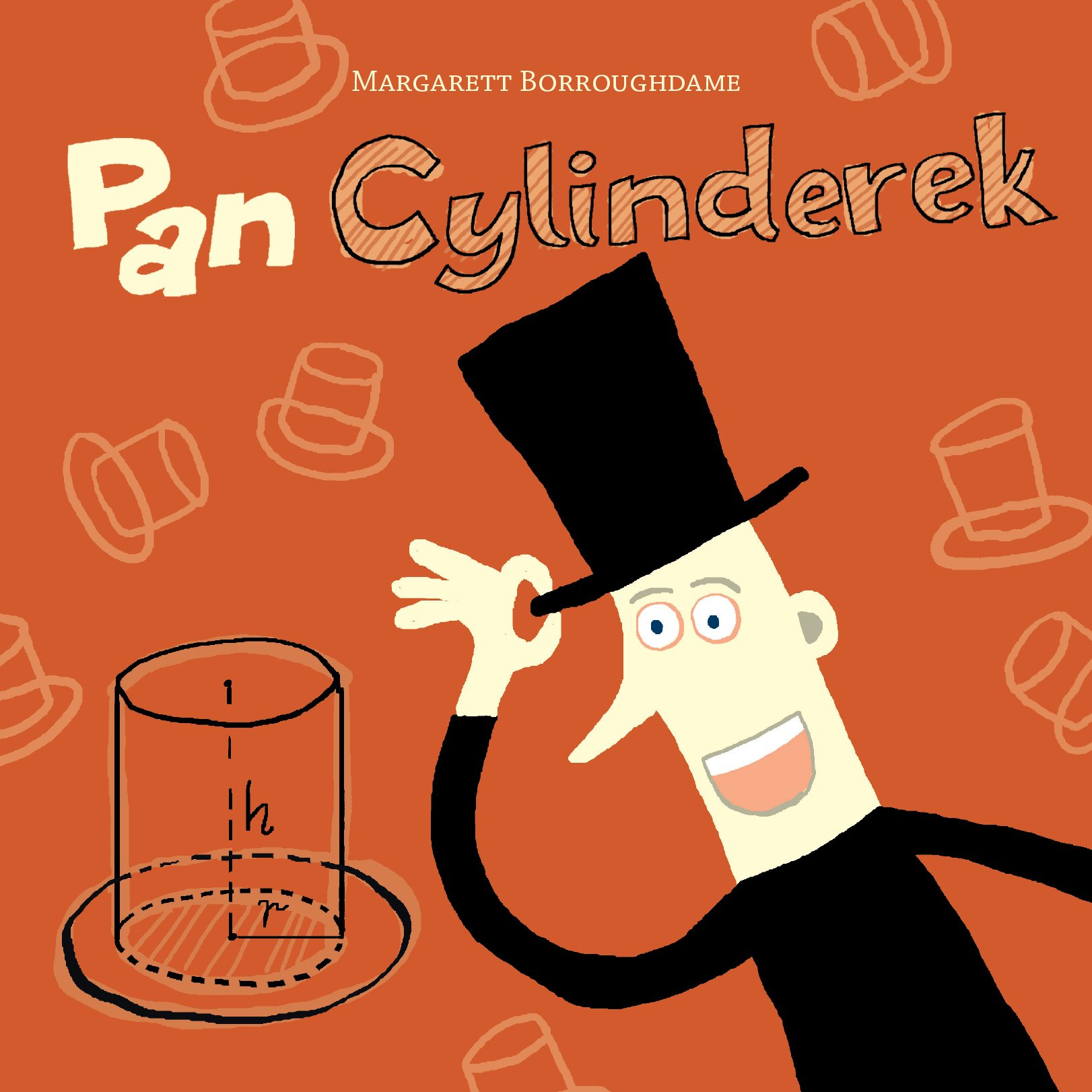 Pan Cylinderek okładka książki dla dzieci