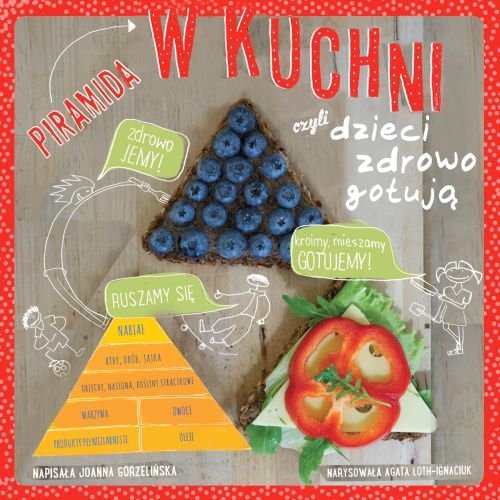 Piramida w kuchni czyli dzieci zdrowo gotują recenzja