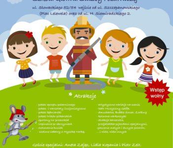 Plakat Dzień Małego Strażaka