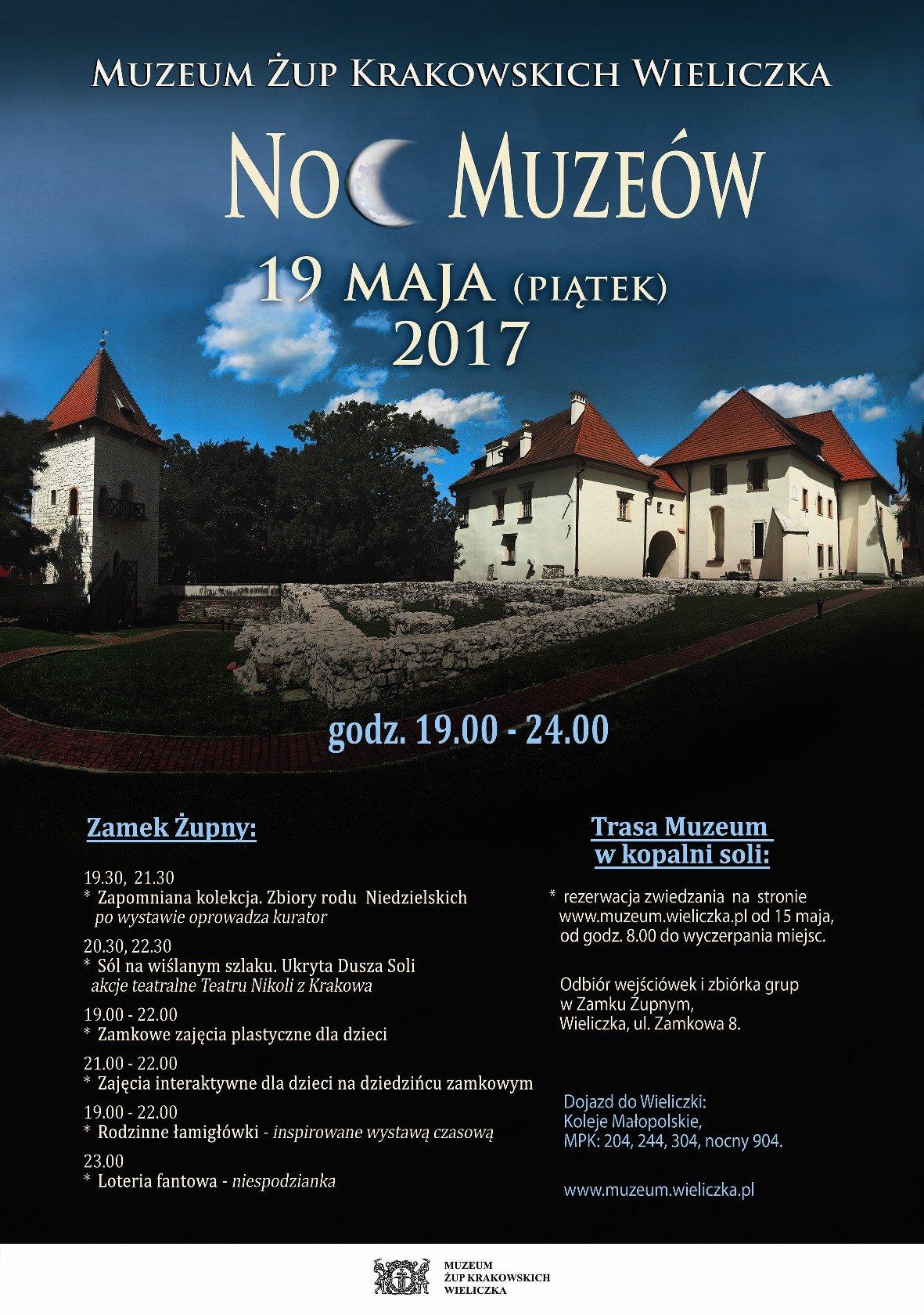 Noc Muzeów Wieliczka