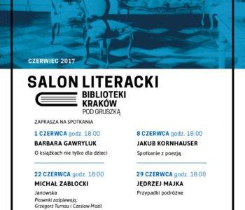 spotkania w Salonie Literackim Kraków
