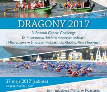 Poznańskie Dragony i 3. Poznań Canoe Challenge