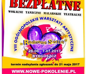VIII Ogólnopolskie Warsztaty Artystyczne Radosne Serca - Bydgoszcz