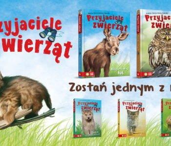 seria przyjaciele zwierząt nowe tytuły łoś i sowa