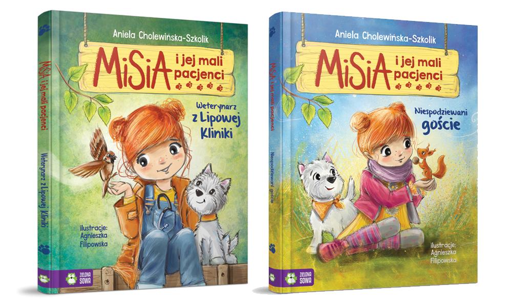 Doktor Misia seria książek dla przedszkolaków o zwierzątkach