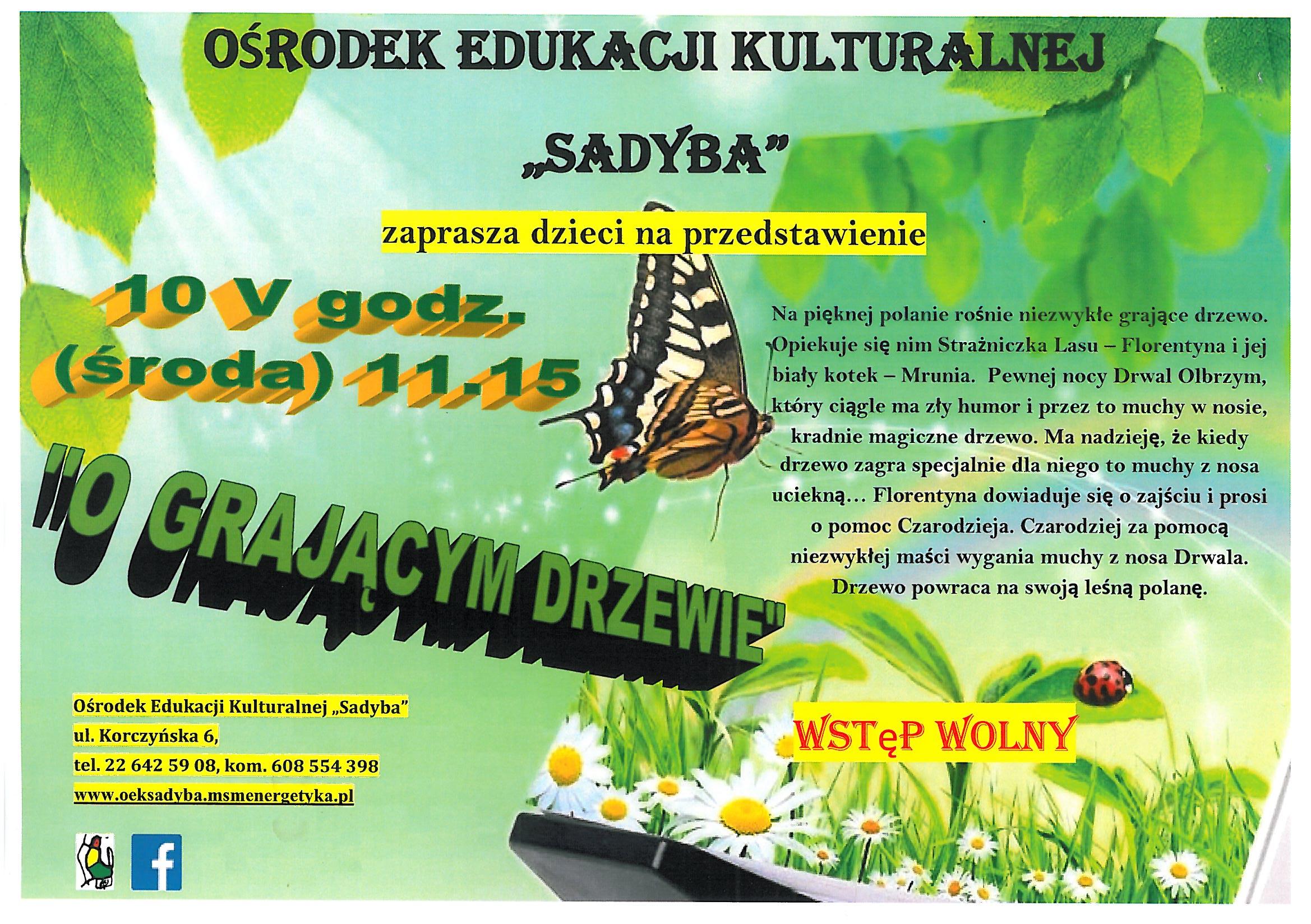 OEK Sadyba Teatrzyk dla dzieci