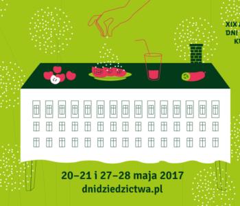 Małopolskie Dni Dziedzictwa Kulturowego Od kuchni