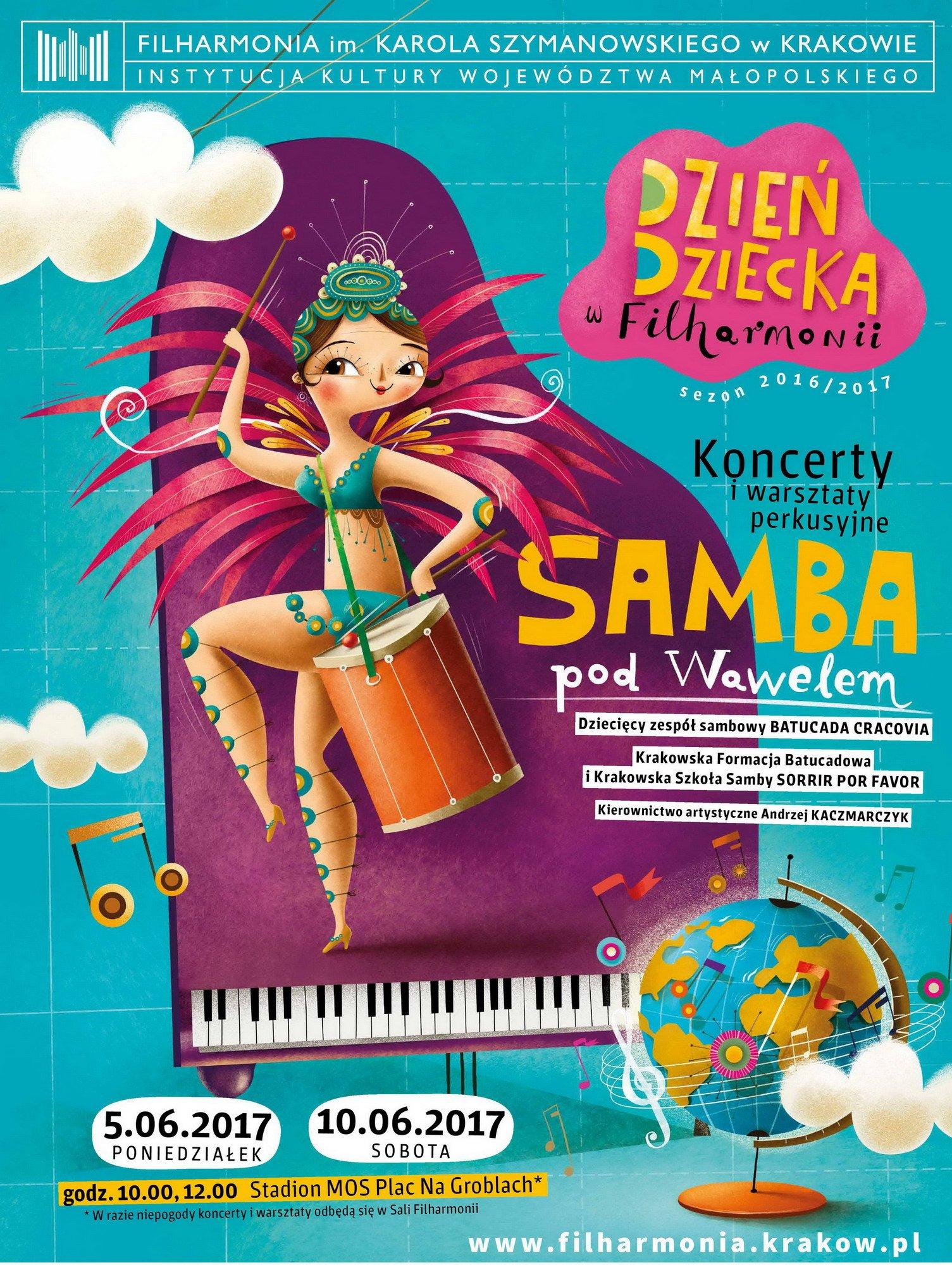 Samba pod Wawelem, czyli Dzień Dziecka z Filharmonią