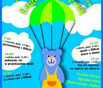 Bezpłatne zajęcia z języka angielskiego dla dzieci