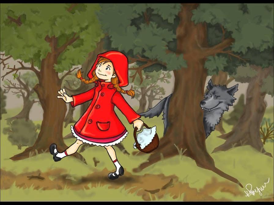 Niewychowany Czerwony Kapturek - spektakl dla dzieci