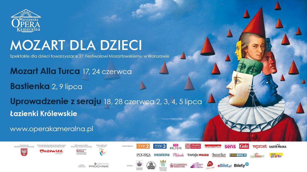 Festiwal Mozarta warszawa koncerty dla dzieci