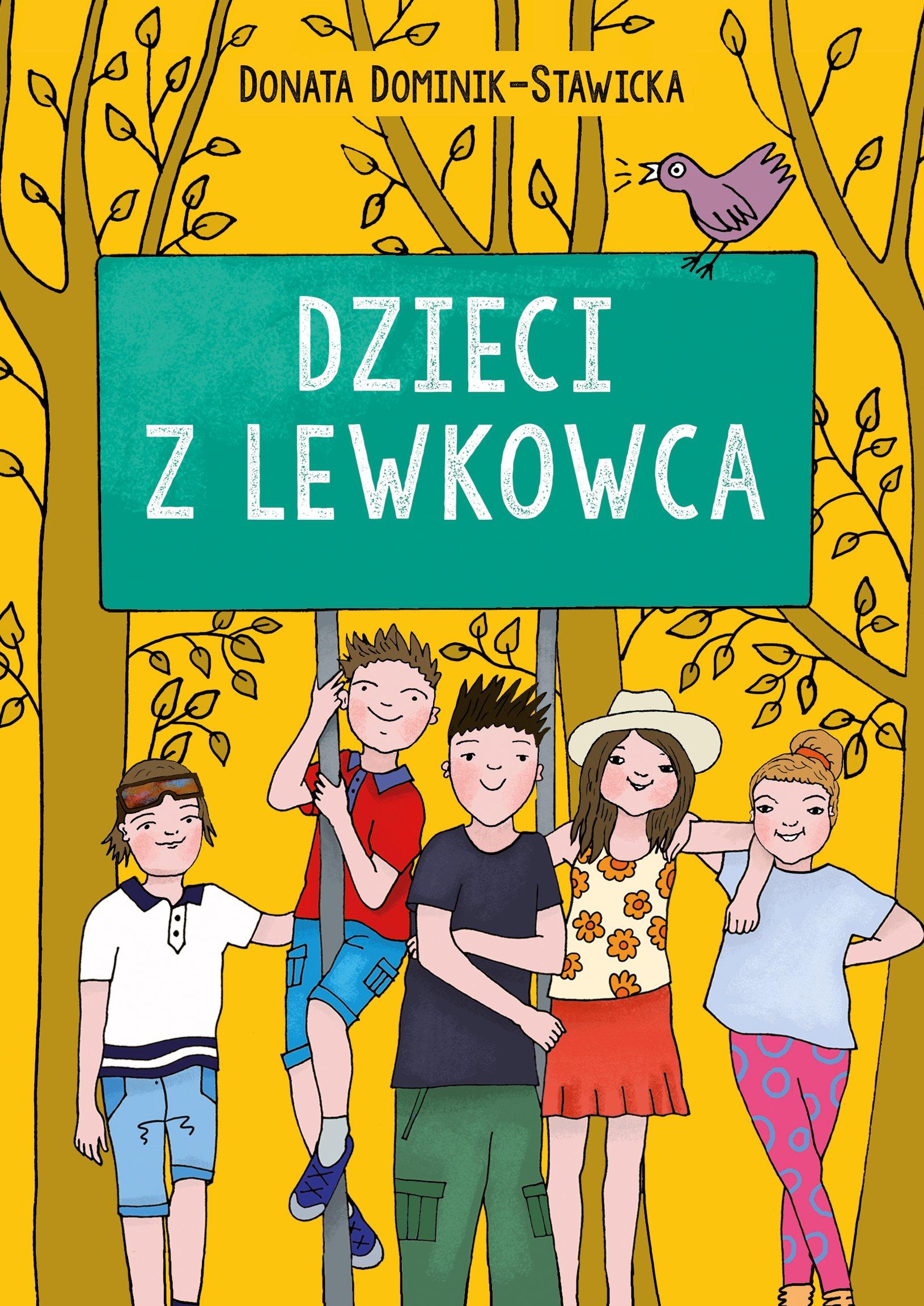 Dzieci z Lewkowca, książka dla dzieci na wakacje