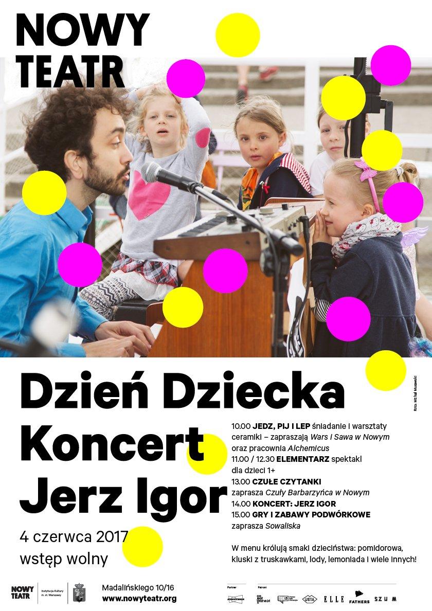 DzieńDziecka nowy teatr 2017 warszawa