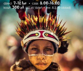 Dzikim Tropem - półkolonia w Klubie Kultury Mydlniki