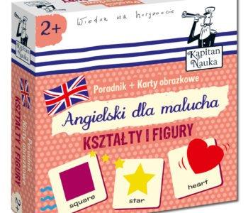 Angielski dla malucha Kształty i figury