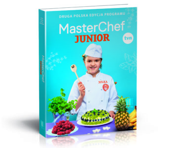 Masterchef Julia Cymbaluk ksiązka z przepisami dla dzieci