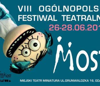 VIII Ogólnopolski Festiwal Teatralny MOST