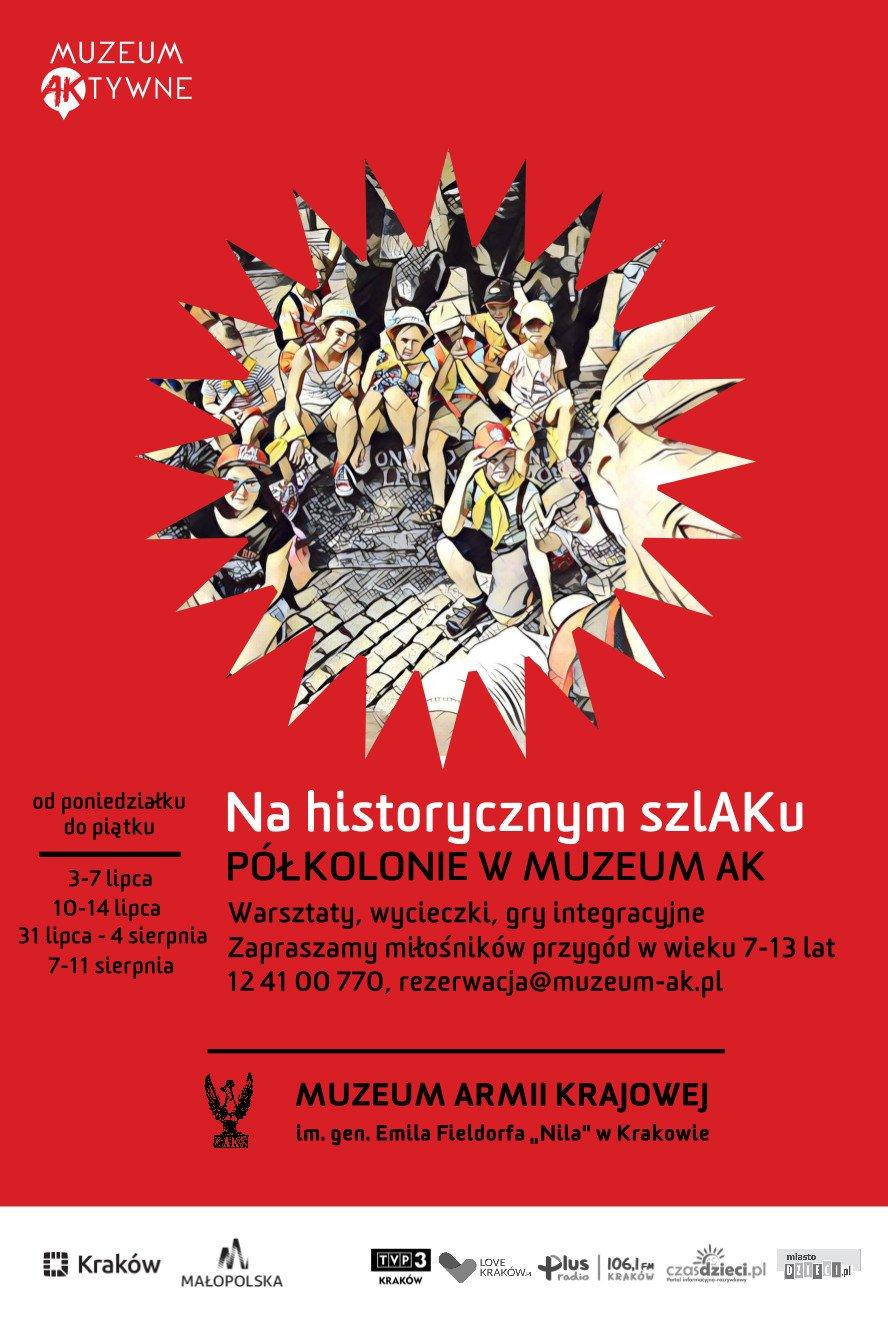 Półkolonie w Muzeum AK. Kolejny raz na historycznym szlAKu!