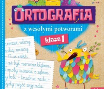 Ortografia z potworami książki dla dzieci