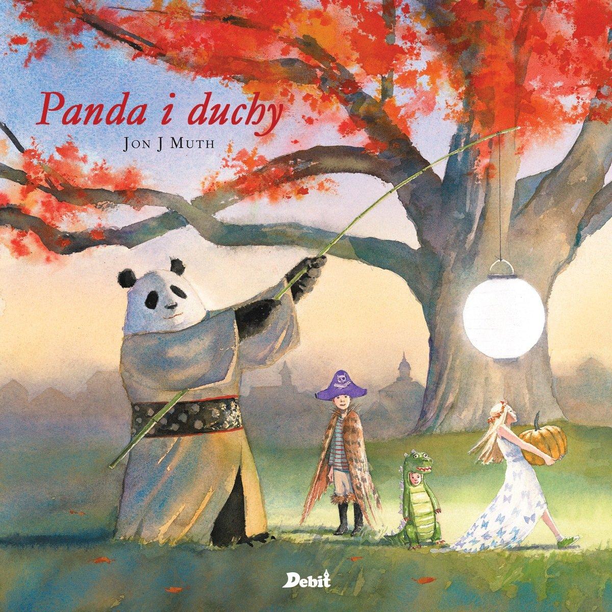 Panda i duchy książka dla dzieci Halloween