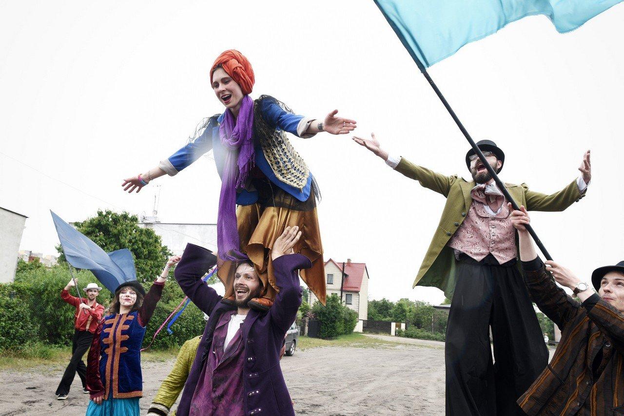 Gdynia Parada dla Meksyku - Teatr Korkoro fot